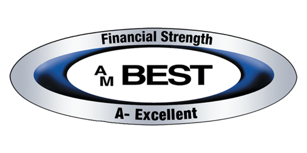 AM Best - Financial Strength A - Excellent
